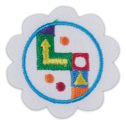 Girl Scouts Daisy Board Game Design Challenge Badge - basicsclothing