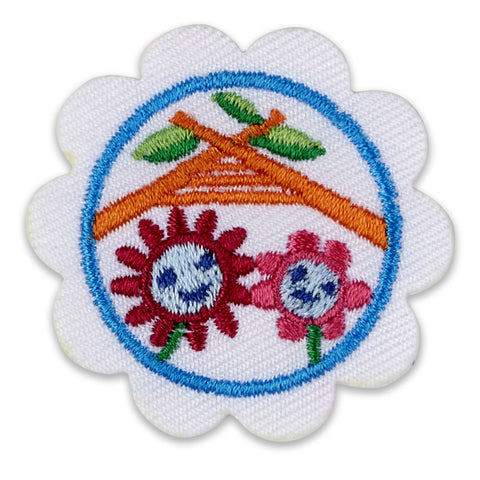 Girl Scouts Daisy Daisy Buddy Camper Badge - basicsclothing