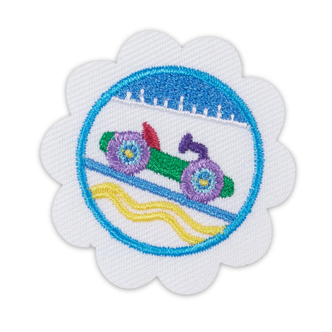 Girl Scouts Daisy Model Car Design Challenge Badge
