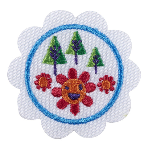 Girl Scouts Daisy Outdoor Art Maker Badge