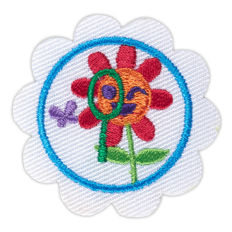 Girl Scouts Daisy Think Like A Citizen Scientist Award Badge - basicsclothing