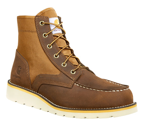 Carhartt Men's 6-Inch Moc Toe Non-Safety Wedge Boot