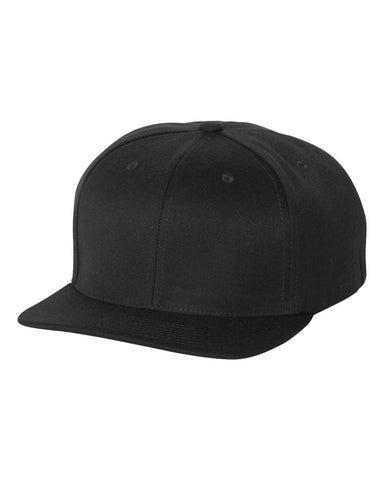 Flexfit - Flat Bill Snapback Hat - 110F - basicsclothing
