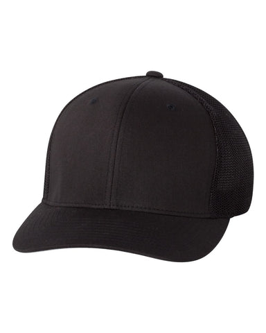 Flexfit - Fitted Cap Trucker Hat - 6511 - basicsclothing