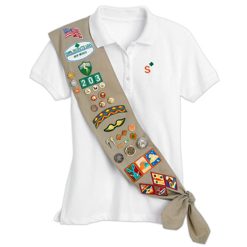 Girl Scouts Cadette, Senior and Ambassador Sash - Basics Clothing Store