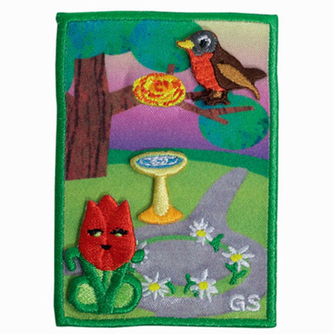 Girl Scouts 5 Flowers, 4 Stories, 3 Cheers For Animals! Daisy Journey Award Set