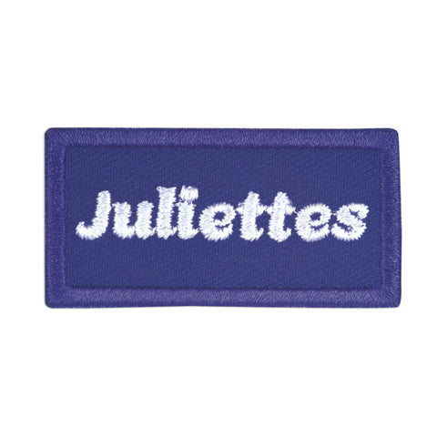 Girl Scouts Juliettes Iron-On Patch - basicsclothing