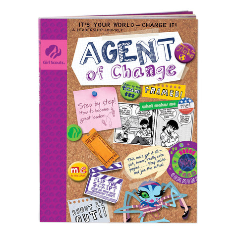 Girl Scouts Junior Agent Of Change Journey Book
