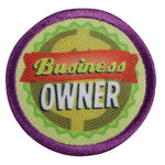 Girl Scouts Junior Business Owner Badge - basicsclothing