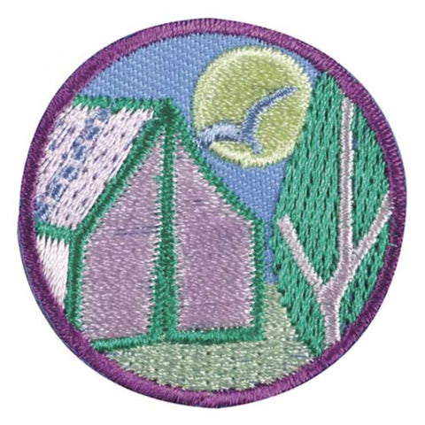 Girl Scouts Junior Camper Badge - basicsclothing