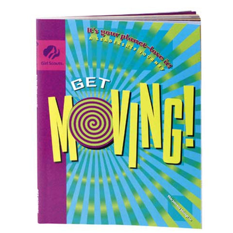 Girl Scouts Junior GET MOVING! Journey Book - basicsclothing