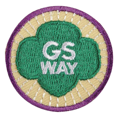 Girl Scouts Junior Girl Scout Way Badge - basicsclothing