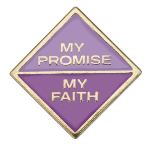 Girl Scouts Junior My Promise, My Faith Pin - Year 1 - basicsclothing