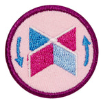 Girl Scouts Junior Paddle Boat Design Challenge Badge