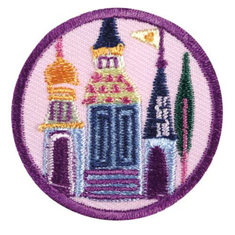 Girl Scouts Junior Playing The Past Badge - basicsclothing