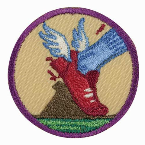 Girl Scouts Junior Practice With Purpose Badge