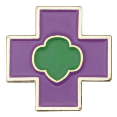 Girl Scouts Junior Safety Award Pin - basicsclothing