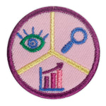Girl Scouts Junior Think Like A Citizen Scientist Award Badge - basicsclothing