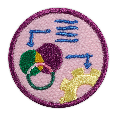 Girl Scouts Junior Think Like An Engineer Award Badge - basicsclothing