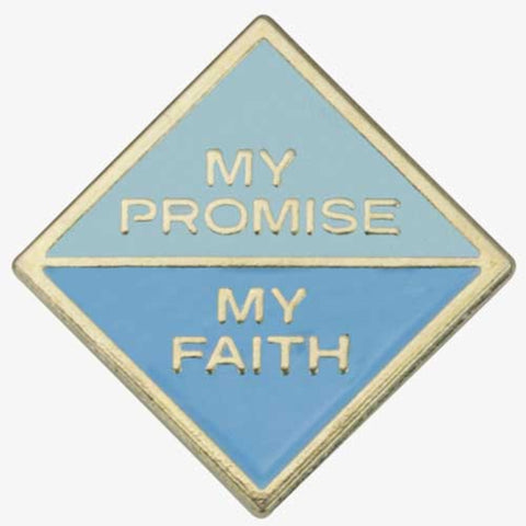 Girl Scouts Daisy My Promise, My Faith Pin - Year 1 - Basics Clothing Store
