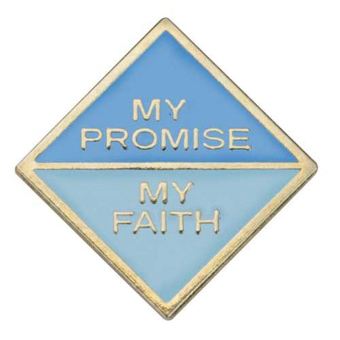 Girl Scouts Daisy My Promise, My Faith Pin - Year 2 - basicsclothing