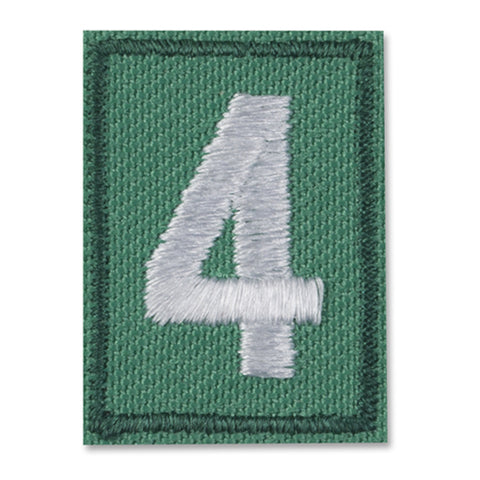 Girl Scouts Multilevel Troop Numeral - basicsclothing