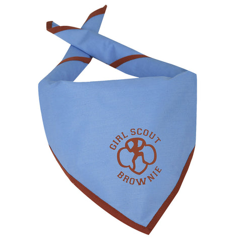 Girl Scouts Official Brownie Scarf