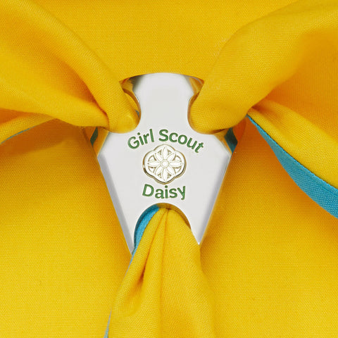Girl Scouts Official Daisy Scarf Slide - basicsclothing