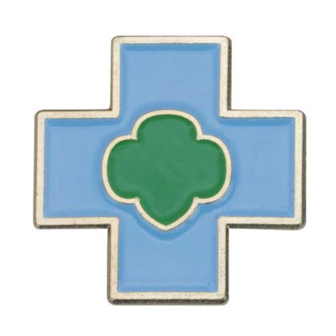 Girl Scouts Daisy Safety Award Pin - basicsclothing