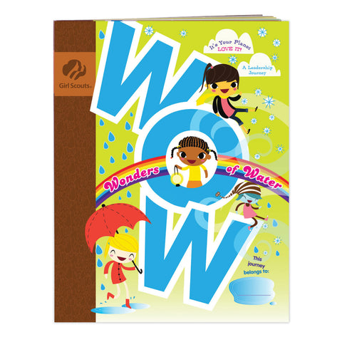 Girl Scouts WOW! Wonders Of Water Brownie Journey Book - basicsclothing