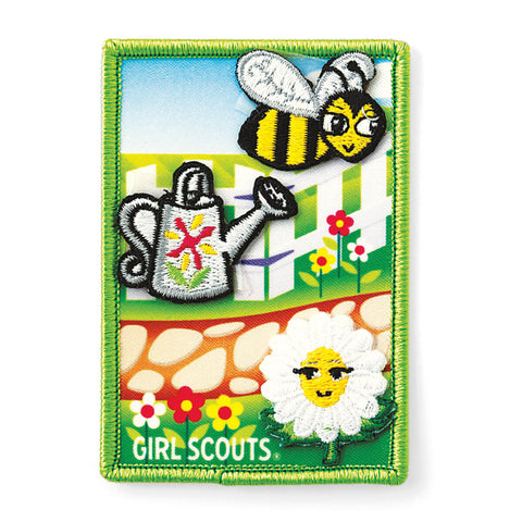 Girl Scouts Welcome To The Daisy Flower Garden Daisy Journey Award Set