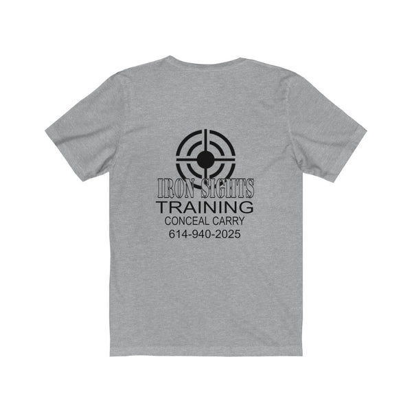Iron Sights Training Unisex Short Sleeve Tee