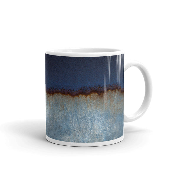 Blue Glaze Look Coffee Mug