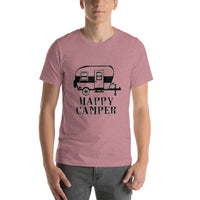 Happy Camper Short-Sleeve Unisex T-Shirt