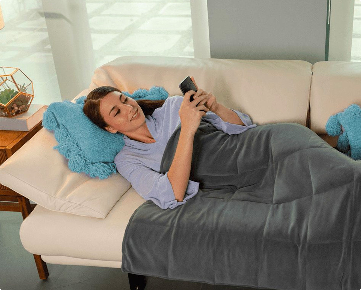 Adult Weighted Blanket Calming Comfort Store