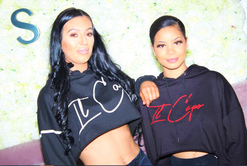 IL Capo - Ladies Crop Top Hoodie - Limited Edition