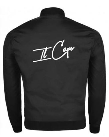 IL Capo Men's Signature Bomber Jacket