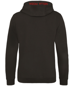 IL Capo Men's Signature The Outline Hoodie - Black/Red