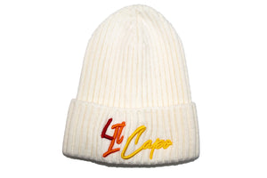 Lil Capo Kids Beanie Hat - White