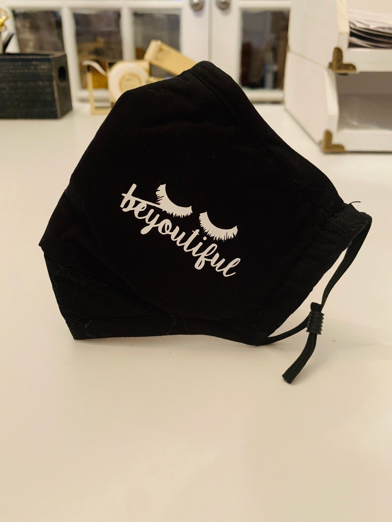 Face Cover With Your Logo Script