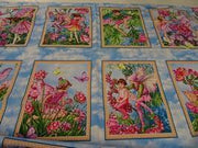 Blossom Fairies Panel - Nana's Weighted Blankets