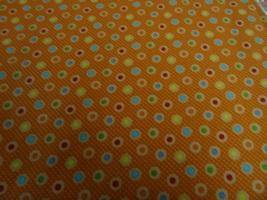 Dots on Orange - Nana's Weighted Blankets