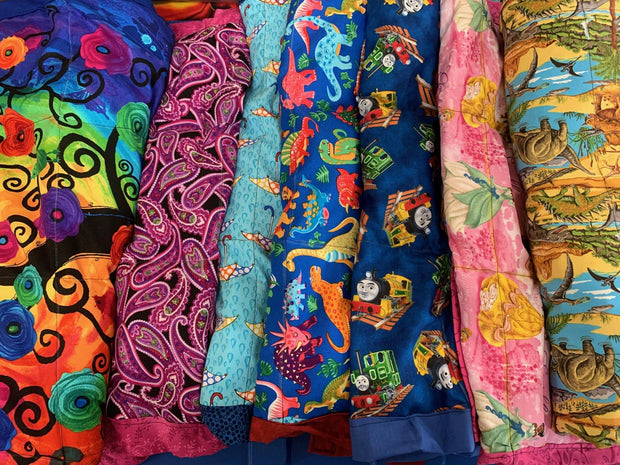 Lucky Dip Boys... we choose the fabric from off cuts