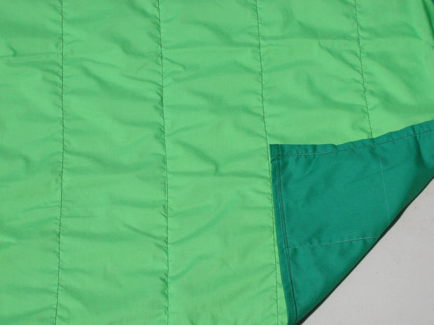 Budget Blanket - Green / Light Green