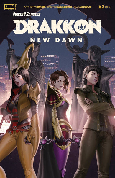 POWER RANGERS DRAKKON NEW DAWN #2 SET OF 4 With Hal Laren Exclusive Virgin Variant