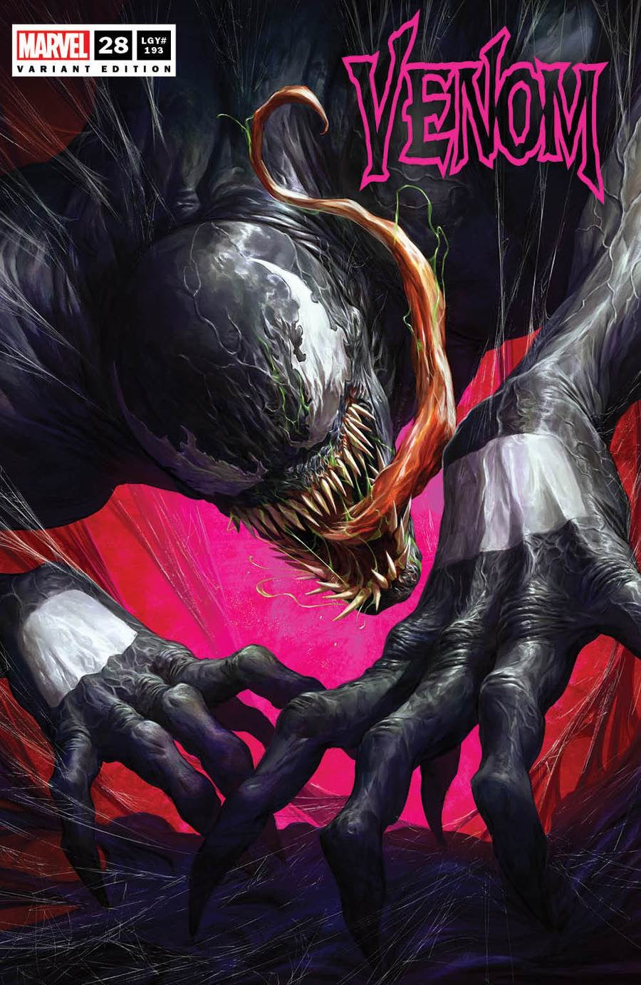 VENOM #28 DAVE RAPOZA Exclusive Trade Dress Variant
