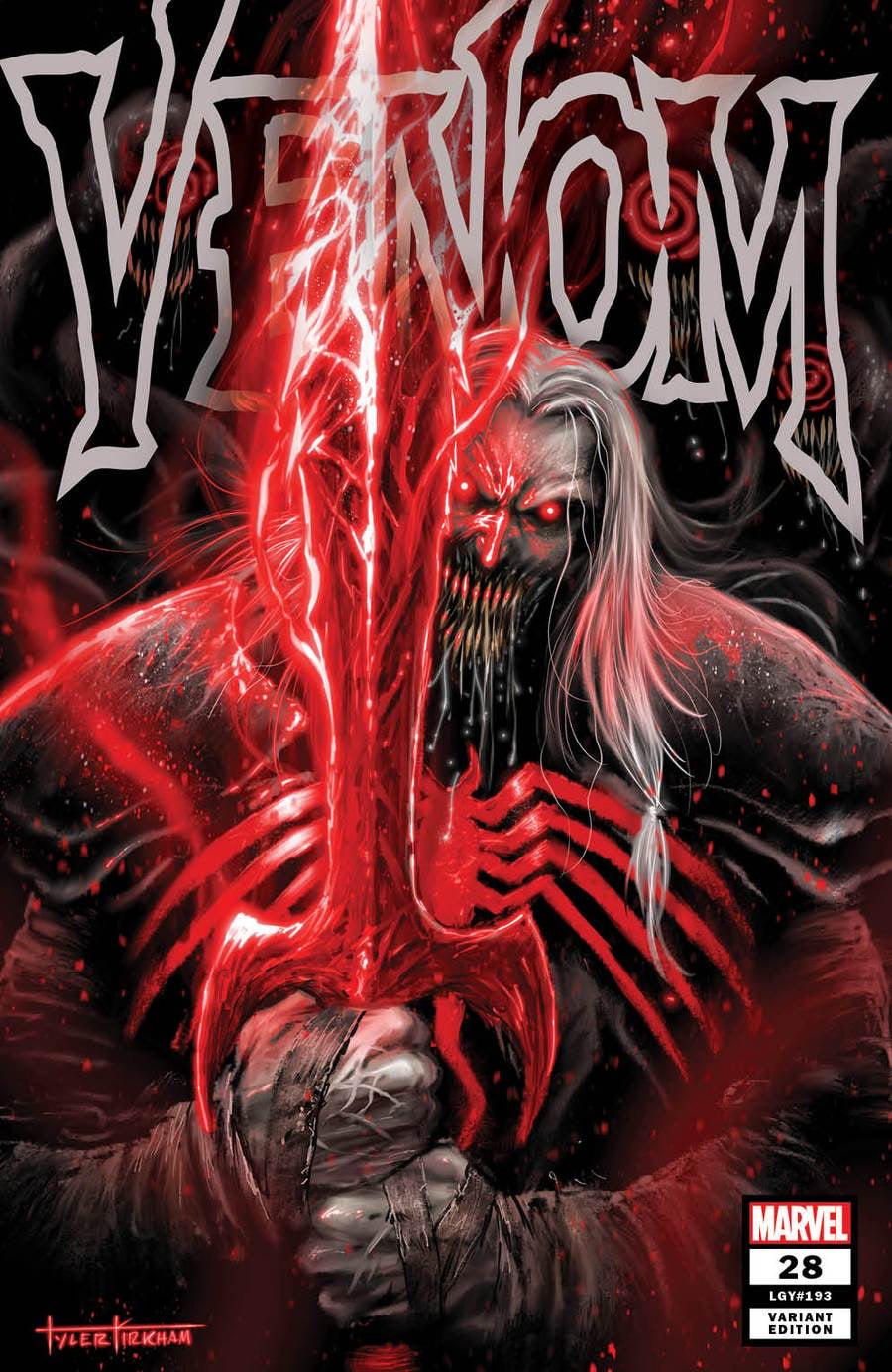 VENOM #28 TYLER KIRKHAM Exclusive Trade Dress Variant