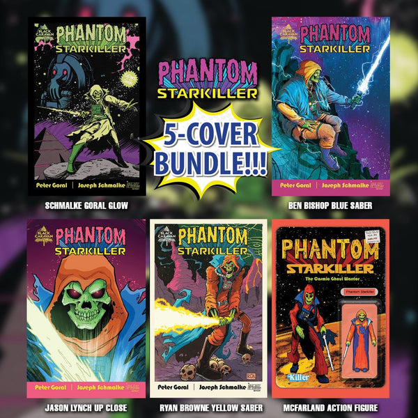 PHANTOM STARKILLER #1 EXCLUSIVE VARIANT BUNDLE OF 5 Scout Comics Ltd 600