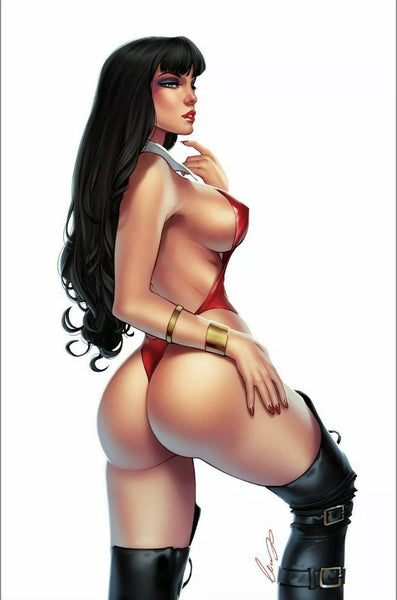 VAMPIRELLA #13 VIRGIN VARIANT SET OF 2 Elias Chatzoudis LTD 500