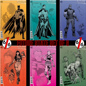 🚨🔥 FUTURE STATE SECOND PRINT SET OF 6 Batman Detective Wonder Woman Harley NM